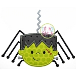Frankenstein Spider Applique