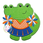 Gator Cheer Applique