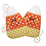Happy Candy Corn Applique