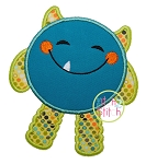 Happy Monster Applique