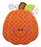Happy Pumpkin Applique
