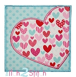 Heart Box Applique