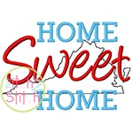 Home Sweet Home Virginia Embroidery