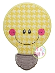 Lightbulb Applique