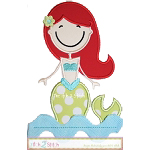 Mermaid 3 Applique