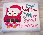 Owl Be Good Applique