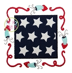 Patriotic Applique Frame