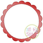 Sketch Scallop Circle Frame
