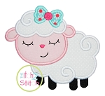 Sleepy Lamb Applique