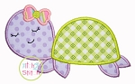 Sleepy Turtle Applique