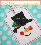 ITH Snowman Face Gift Card Holder & Gift Tag