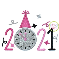 2021 New Year Applique