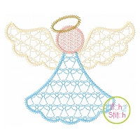 Angel Motif Embroidery