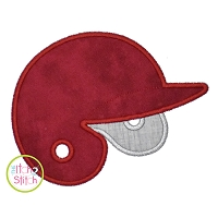 Baseball Helmet Applique