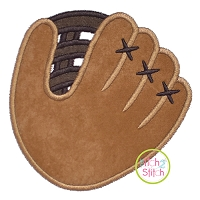 Baseball Mitt Applique