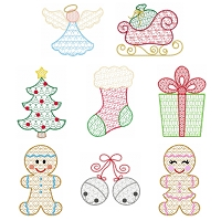 Christmas Motif Design Set