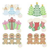 Christmas Trio Motif Design Set