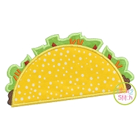 Cinco de Mayo Taco 2 Applique
