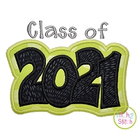 Class of 2021 Double Applique