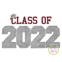 Class of 2022 Applique Design Set
