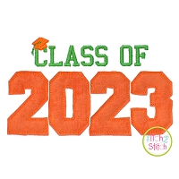 Class of 2023 Applique Design Set