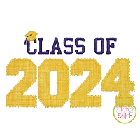 Class of 2024 Applique Design Set