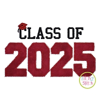Class of 2025 Applique Design Set