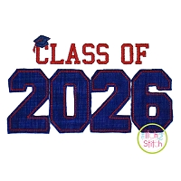 Class of 2026 Applique Design Set
