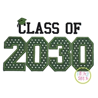 Class of 2030 Applique Design Set