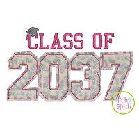 Class of 2037 Applique Design Set