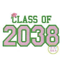 Class of 2038 Applique Design Set