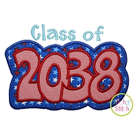 Class of 2038 Double Applique