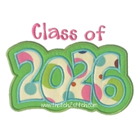 Class of 2026 Double Applique