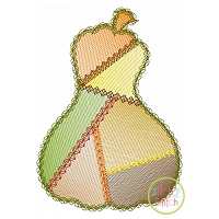 Fancy Patchwork Gourd Sketch Embroidery