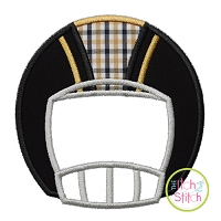 Football Helmet Front Applique
