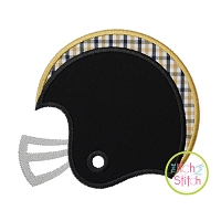 Football Helmet Side Applique