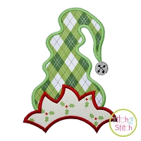 Funky Elf Hat Applique