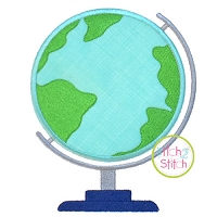 Globe Applique Design