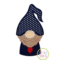 Gnome Dad Applique Design