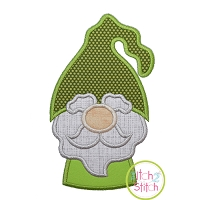 Gnome Grandpa Applique Design