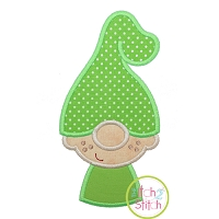 Gnome Little Boy Applique Design