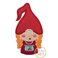 Gnome Mom Applique Design