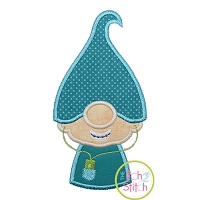 Gnome Teen Boy Applique Design