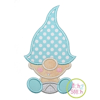 Gnome Toddler Boy Applique Design