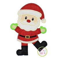 Happy Santa Applique