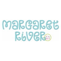 Margaret River Embroidery Font