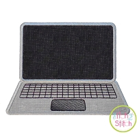 Laptop Applique Design