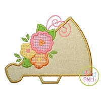 Megaphone Flowers Applique