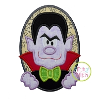 Oval Dracula Applique