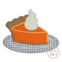 Pie Slice Applique